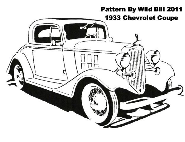 Hot Rod Coloring Pages Coloring pages for Adults Pinterest - best of coloring pages antique cars