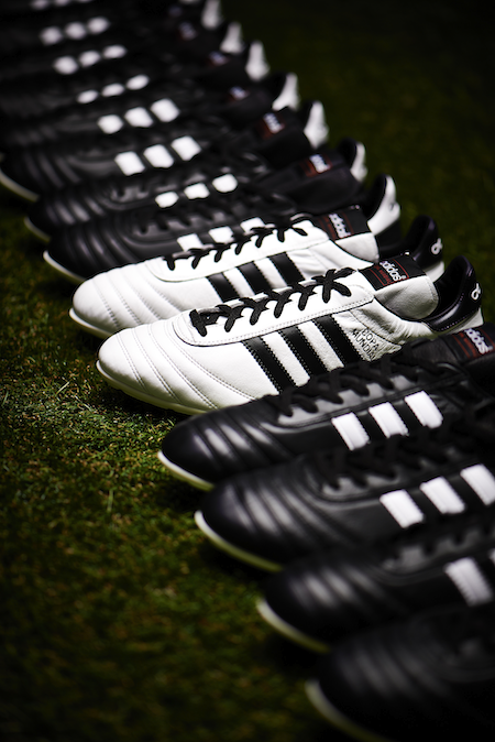 Legendary never looked so good. Introducing the Limited Edition White Black   adidas Copa Mundial.  soccer  cleats 3f98dbc1fec62