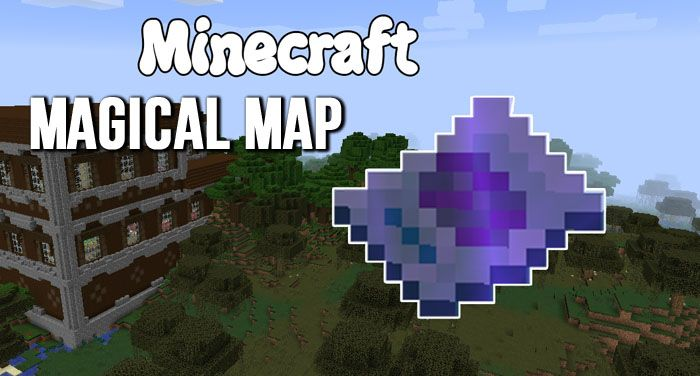 Magical Map Mod Find Structures Minecraft Mods - Mapas para minecraft 1 11 2