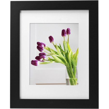 Mainstays Museum 11 Inch X 14 Inch Matted To 8 Inch X 10 Inch Picture Frame Black Size 11 Inch X 14 Inch Picture Frames 10 Picture Frames On Wall