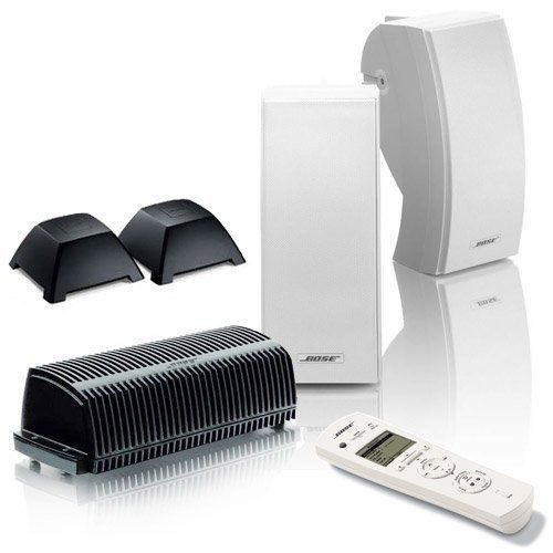 Bose 251 White Outdoor Wireless Expansion Package for Lifestyle 48