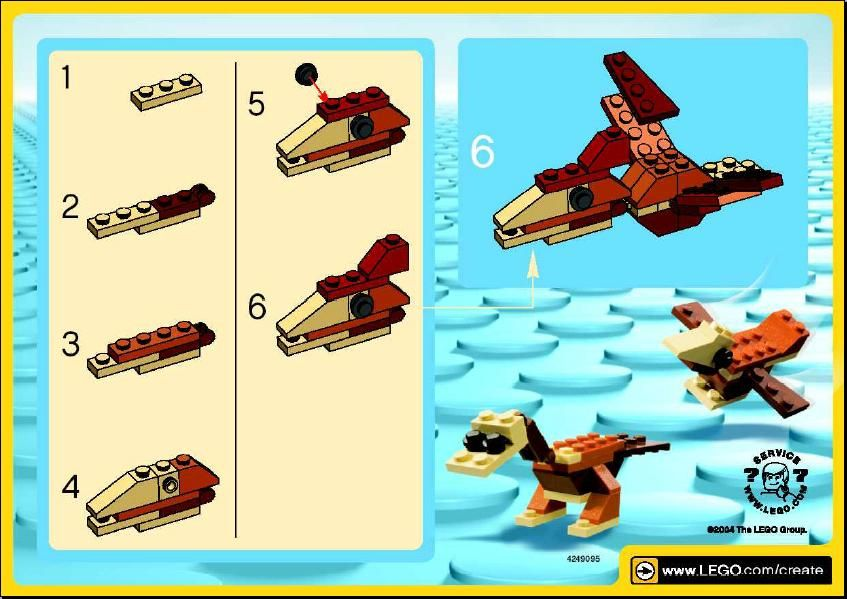 Make And Create Flying Dino Lego 7209 Lego Fun Pinterest