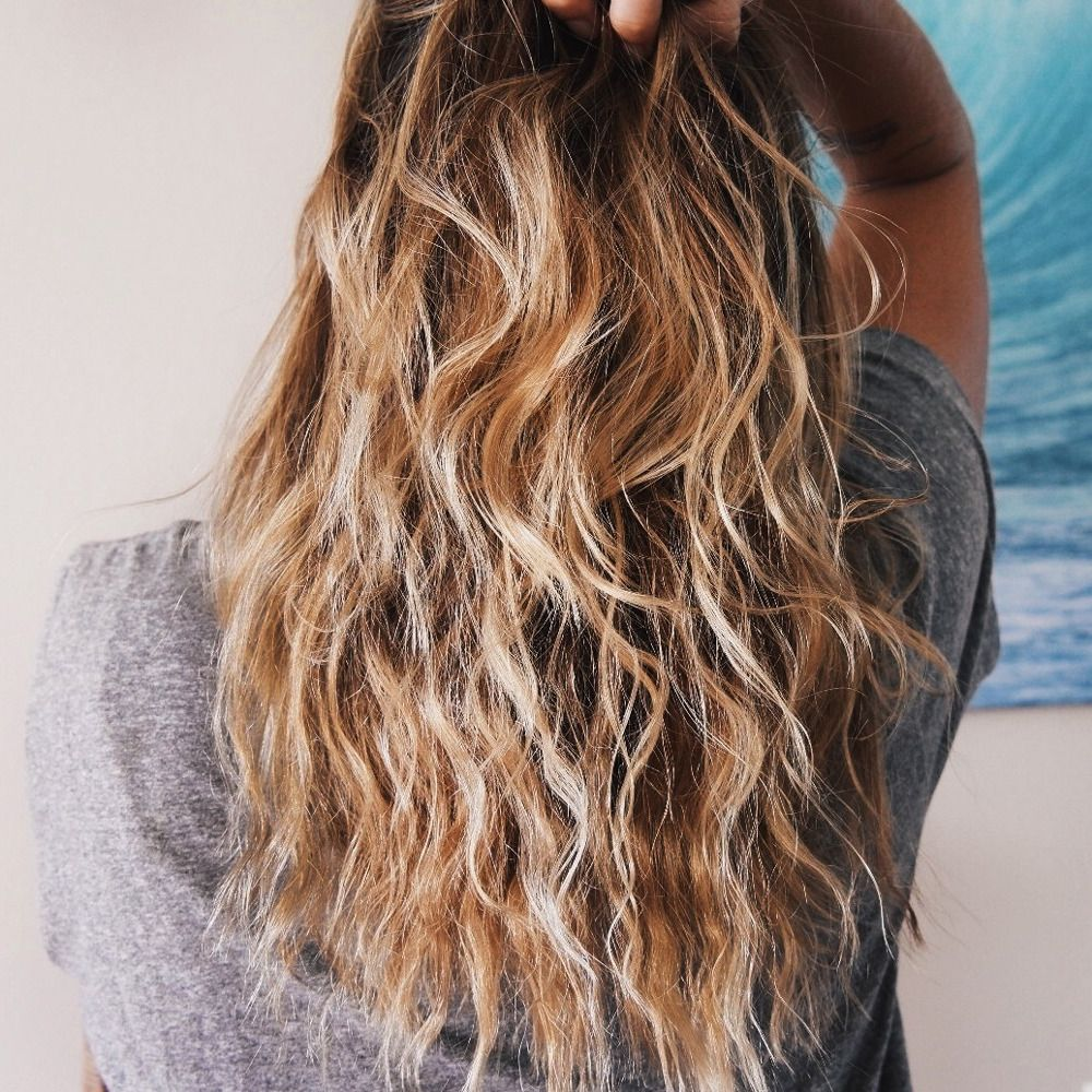 The Overnight Air Dry Wave Air Dry Hair Wavy Hair Overnight Beach Wave Hair