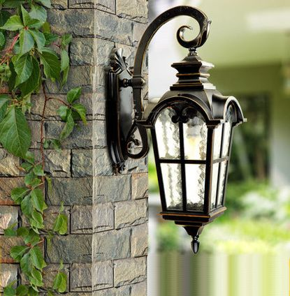 Europe style high-end outdoor lamp garden lights waterproof wall lamp  vintage wall lamp Contains - Europe Style High-end Outdoor Lamp Garden Lights Waterproof Wall