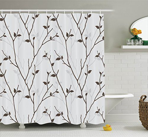 Bathroom Rugs Ideas Ambesonne Leaves Decor Collection Branches