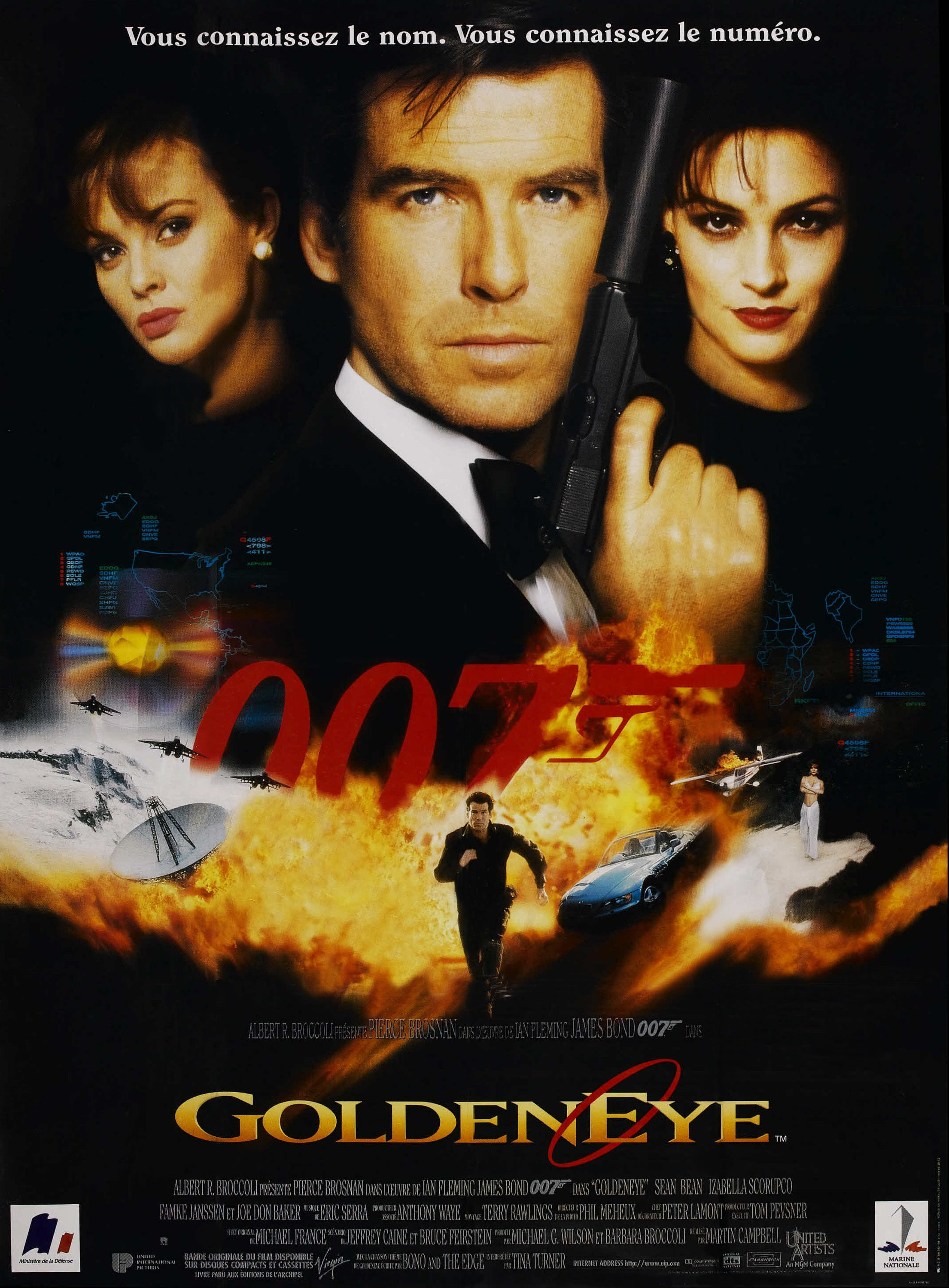 Goldeneye 1995 Cartaz Mi6