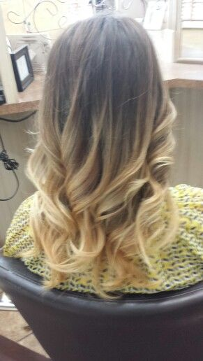A little ombre today