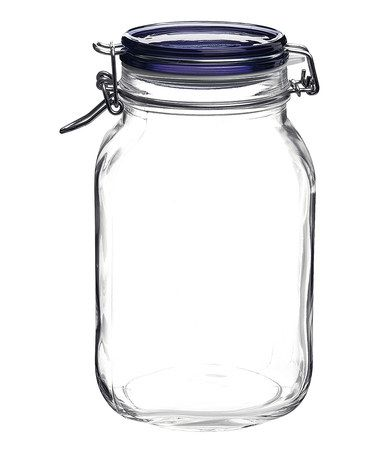 Fido Blue Lid 50 75 Oz Canning Jar Set Of 12 Daily Deals For Moms Babies And Kids Glass Jars With Lids Glass Canning Jars Hermetic Jars