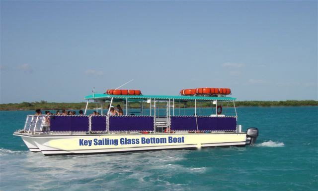 New For The 2015 Season Key Sailing Will Have The Only Excursion Class Glass Bottom Boat On The Island The Boat Boat Tours Glass Bottom Boat Pensacola Beach