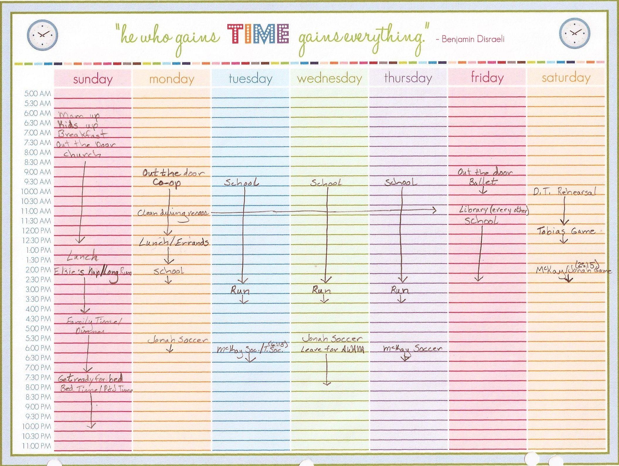 Free Schedule