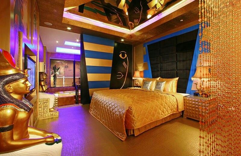 Beautiful Ancient Egyptian Bedroom Design Inspiration