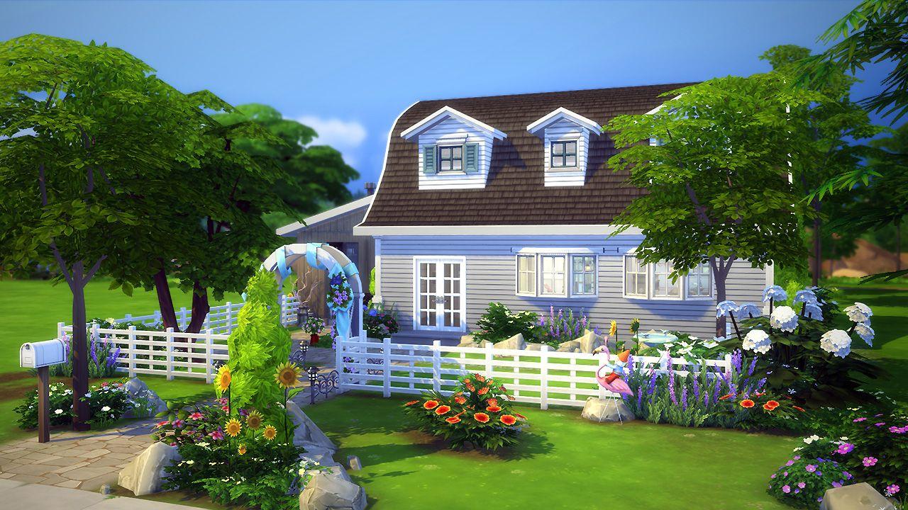 Bobbi Maison Pour Les Sims 4 Sims 4 Cc Finds Pinterest Sims