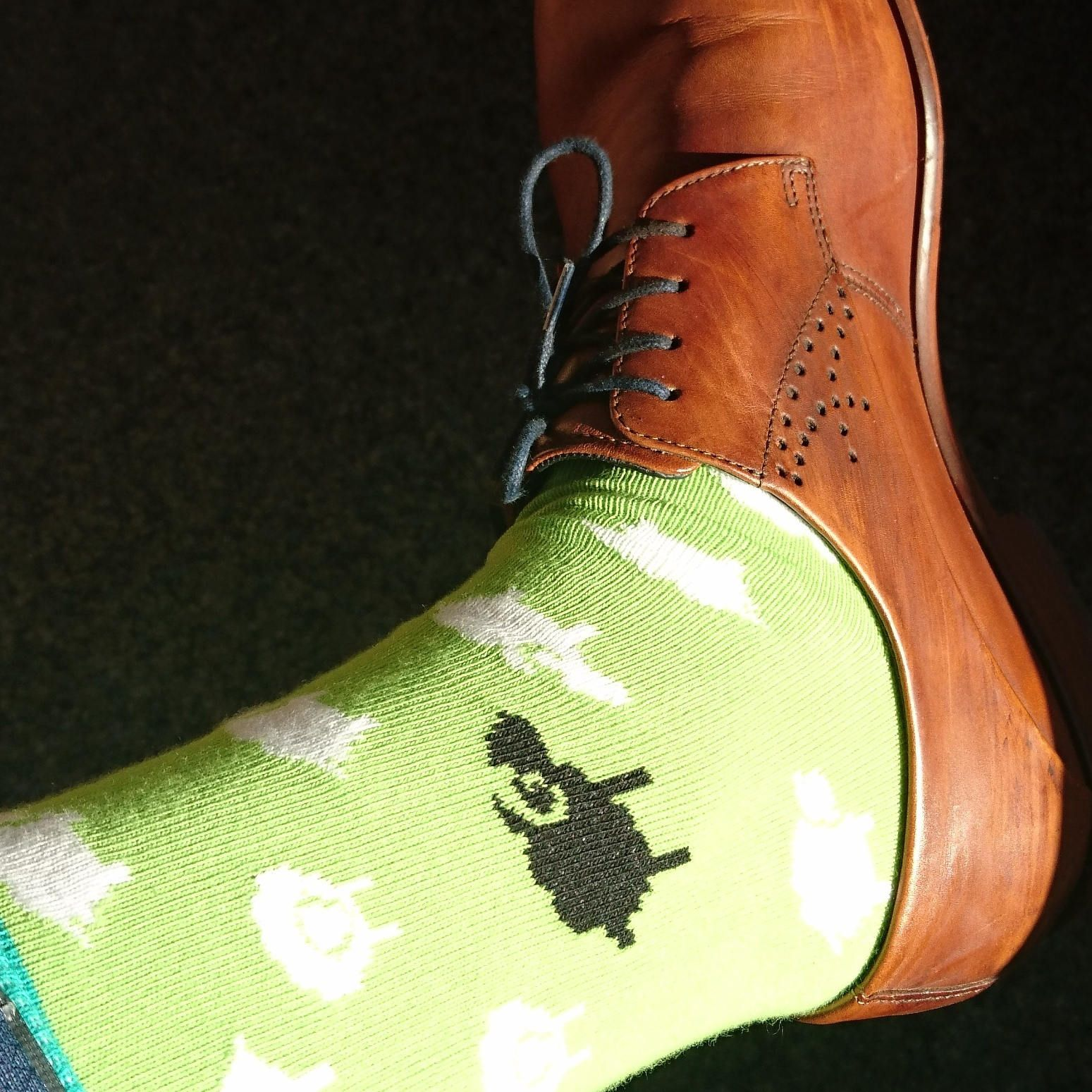 Sheep Socks Cute And Fun For Men Crazy Wedding His Great Funny Hy Gift Novelty Sock
