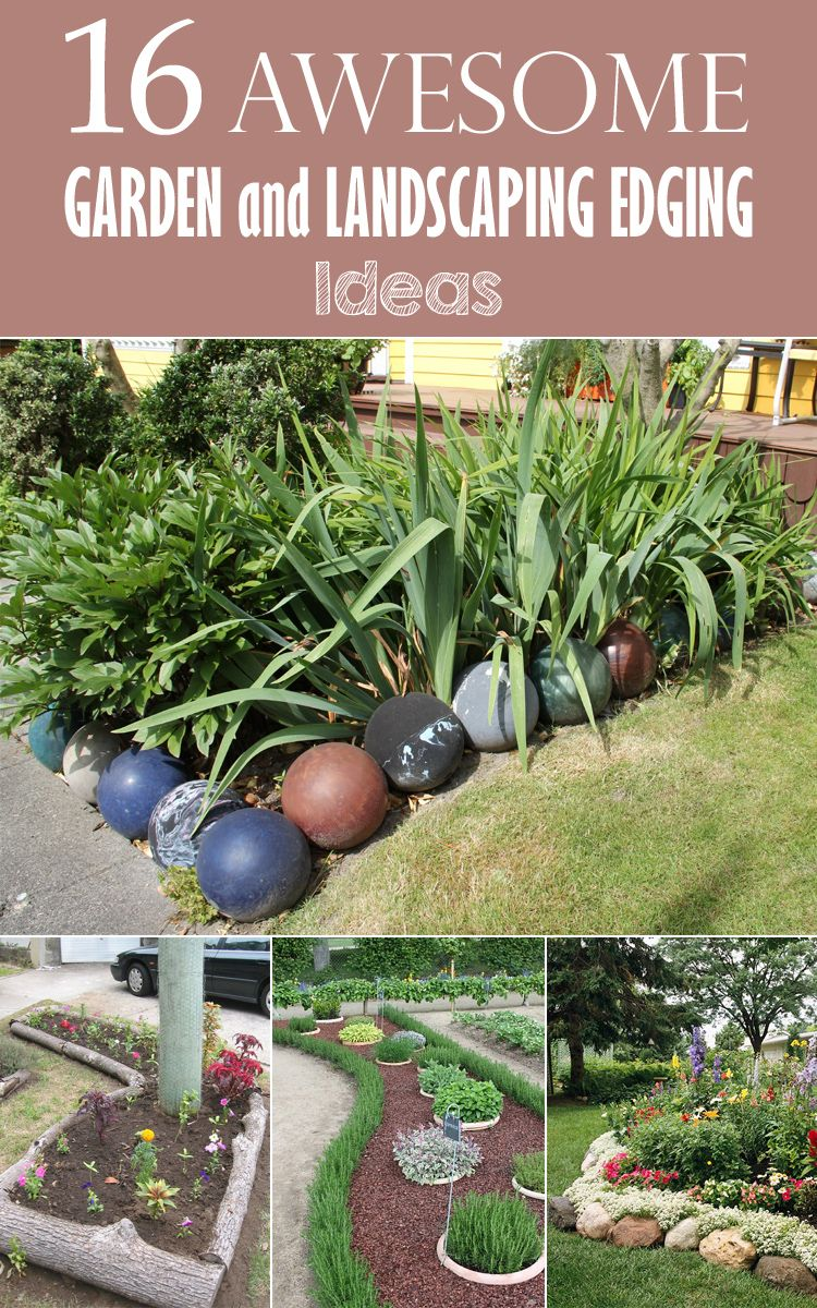 10 creative landscape edging ideas garden edging