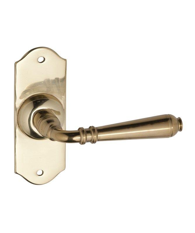 Brass Door Handles - Small Reims Range - Restoration Online