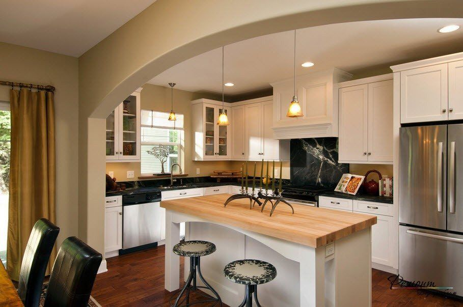 25 Kitchen Archway Decor Ideas Gorgeous Interior Design Photo