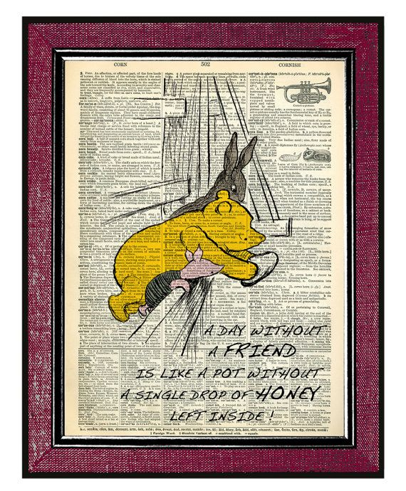 WINNIE THE POOH & Friends Pooh Quotes Pooh Bear Winnie The ...