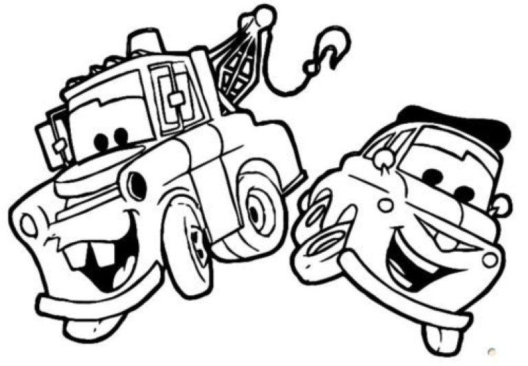 رسومات كيوت للتلوين للبنات والأولاد بأشكال روعة وجميلة جدا مفرغة Cars Coloring Pages Disney Cars Coloring Pages