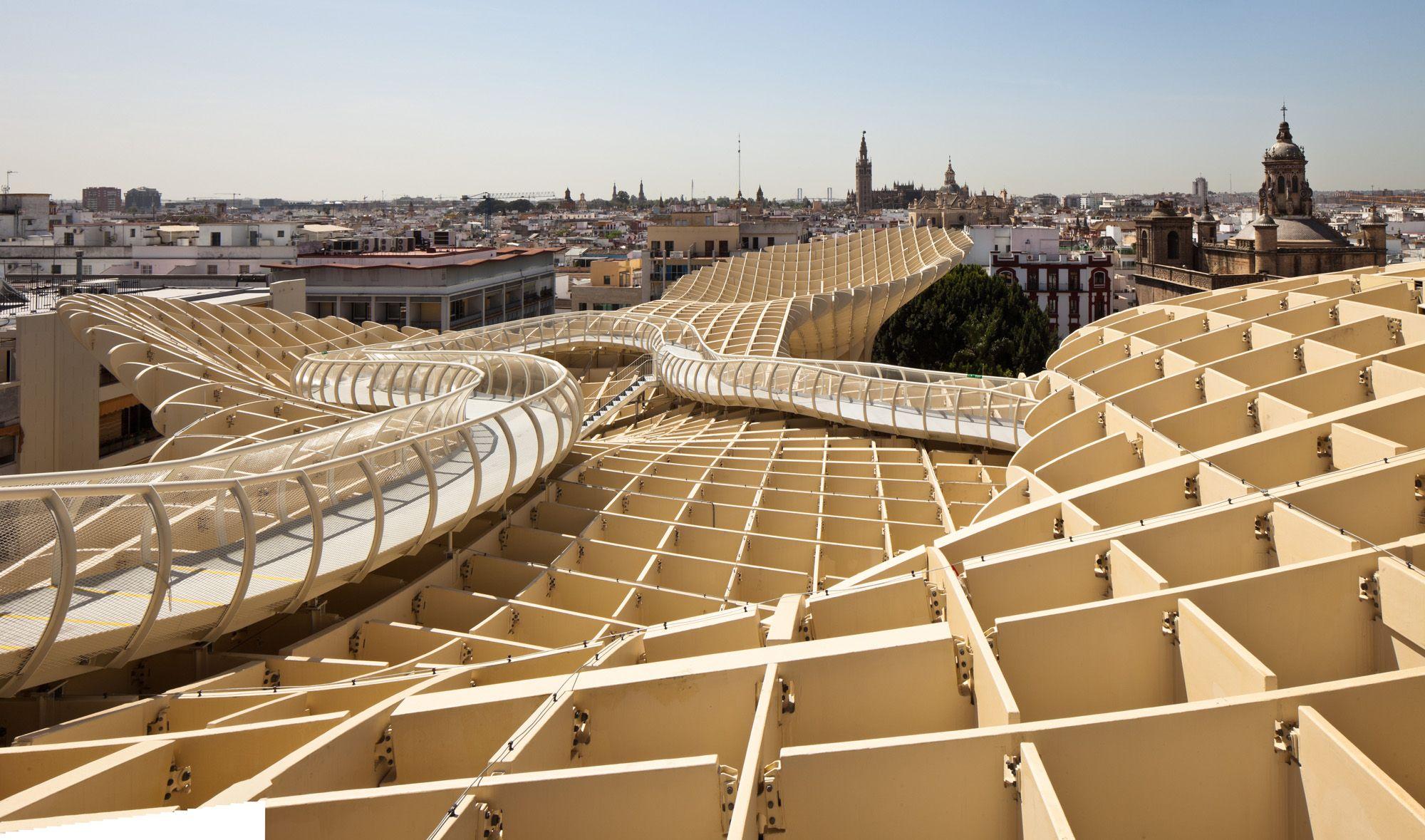 Espanha: Metropol Parasol, por J. Mayer H. Architects