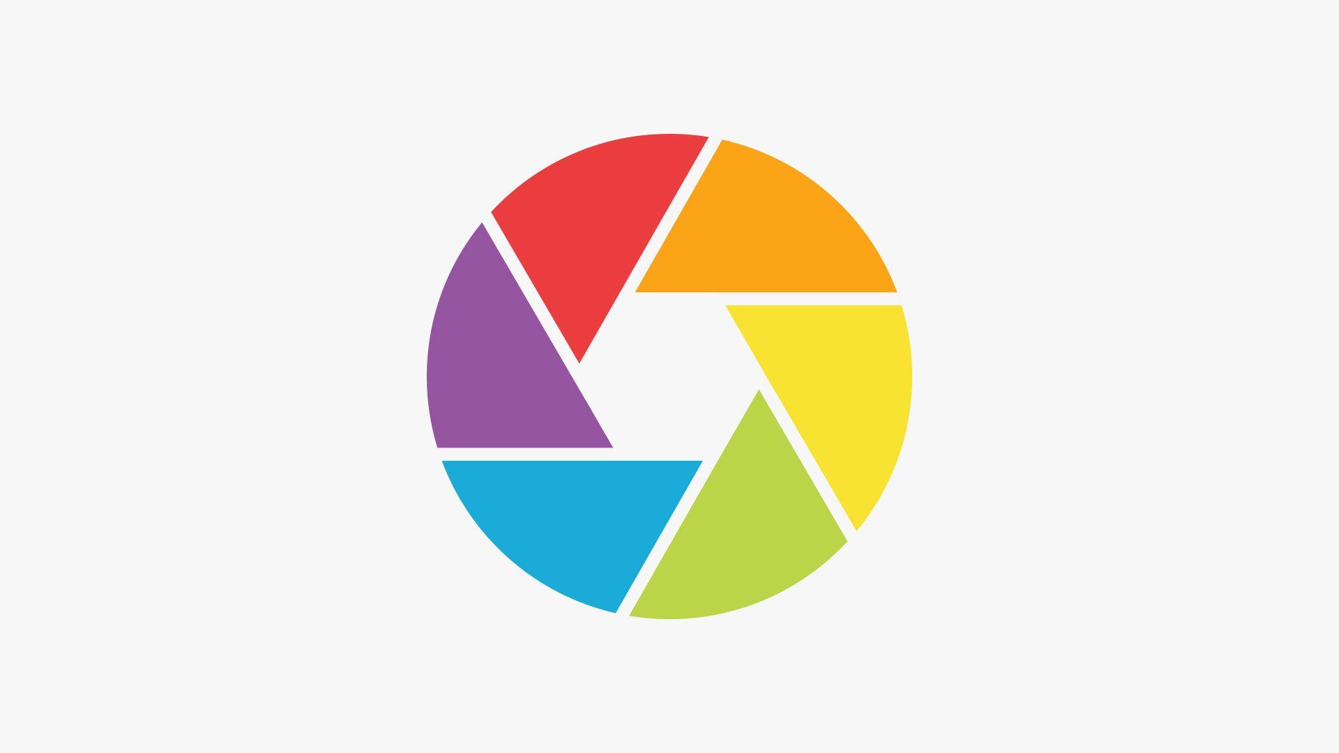 Camera Shutter Icon In Illustrator Mensagens Fotos