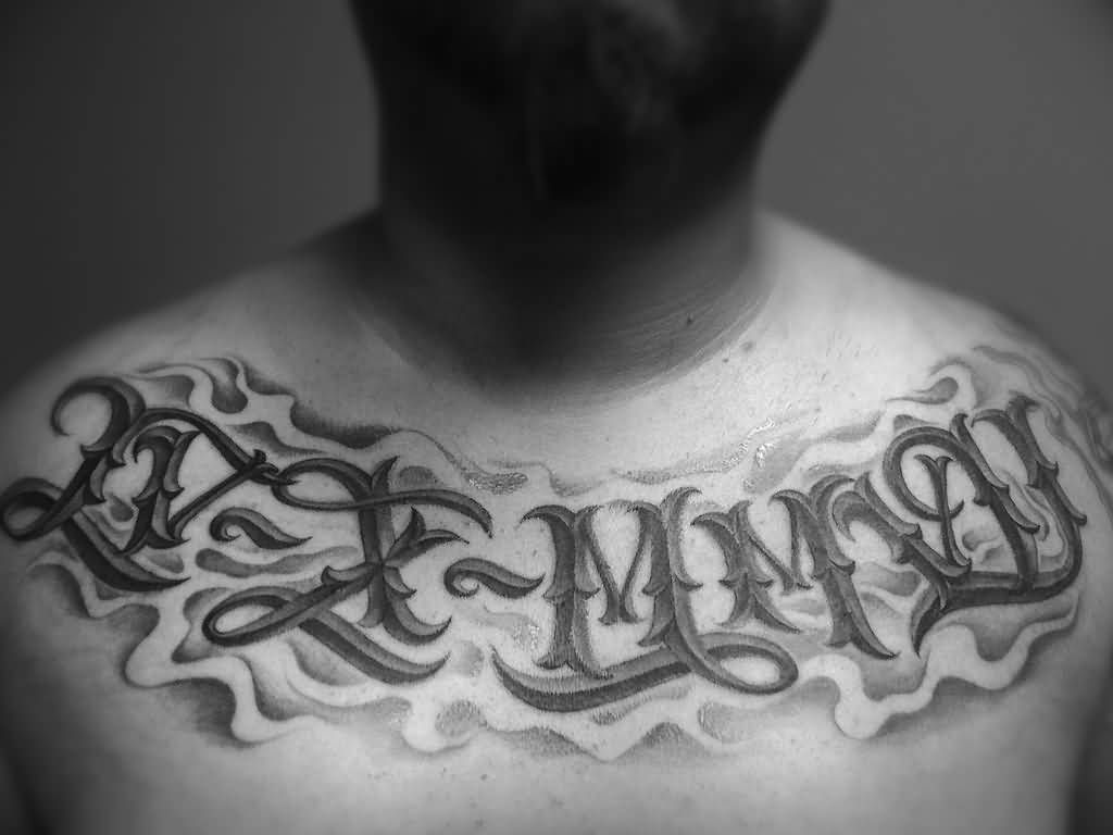 Pin 25 overwhelming rib tattoos for guys creativefan on pinterest - I Am Loving The Placement And Thinking All Of My Kids Birthdays In Roman Numerals Across My Chest Like This Definitely Not This Font Style Though