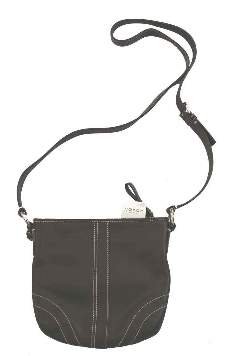 coach designer hand bags   handbags SOHO LEATHER SWINGPACK in Black ...