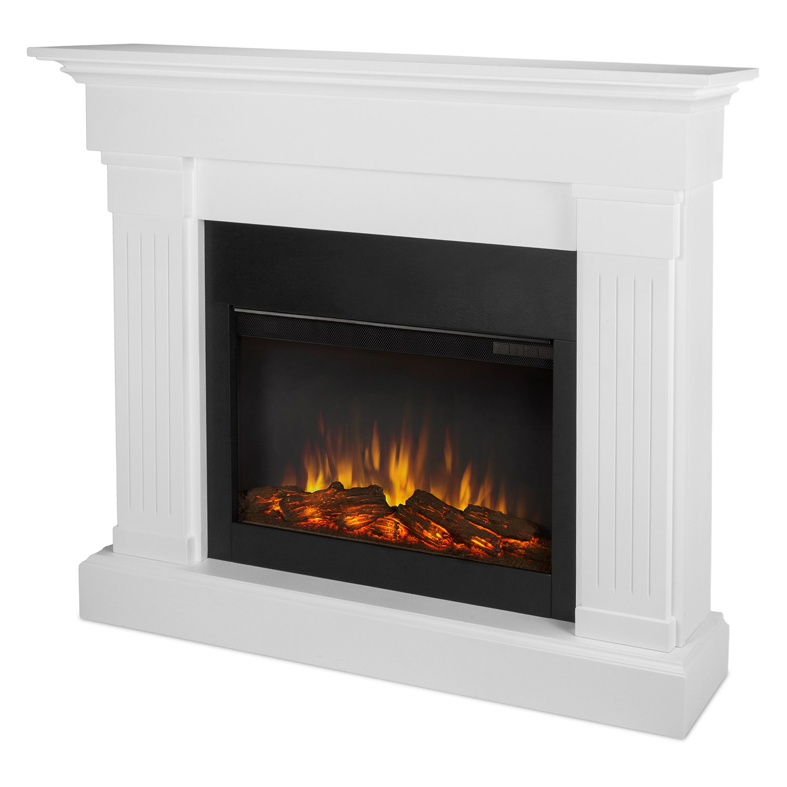 Real Flame Crawford Slim Line Electric Fireplace With Images