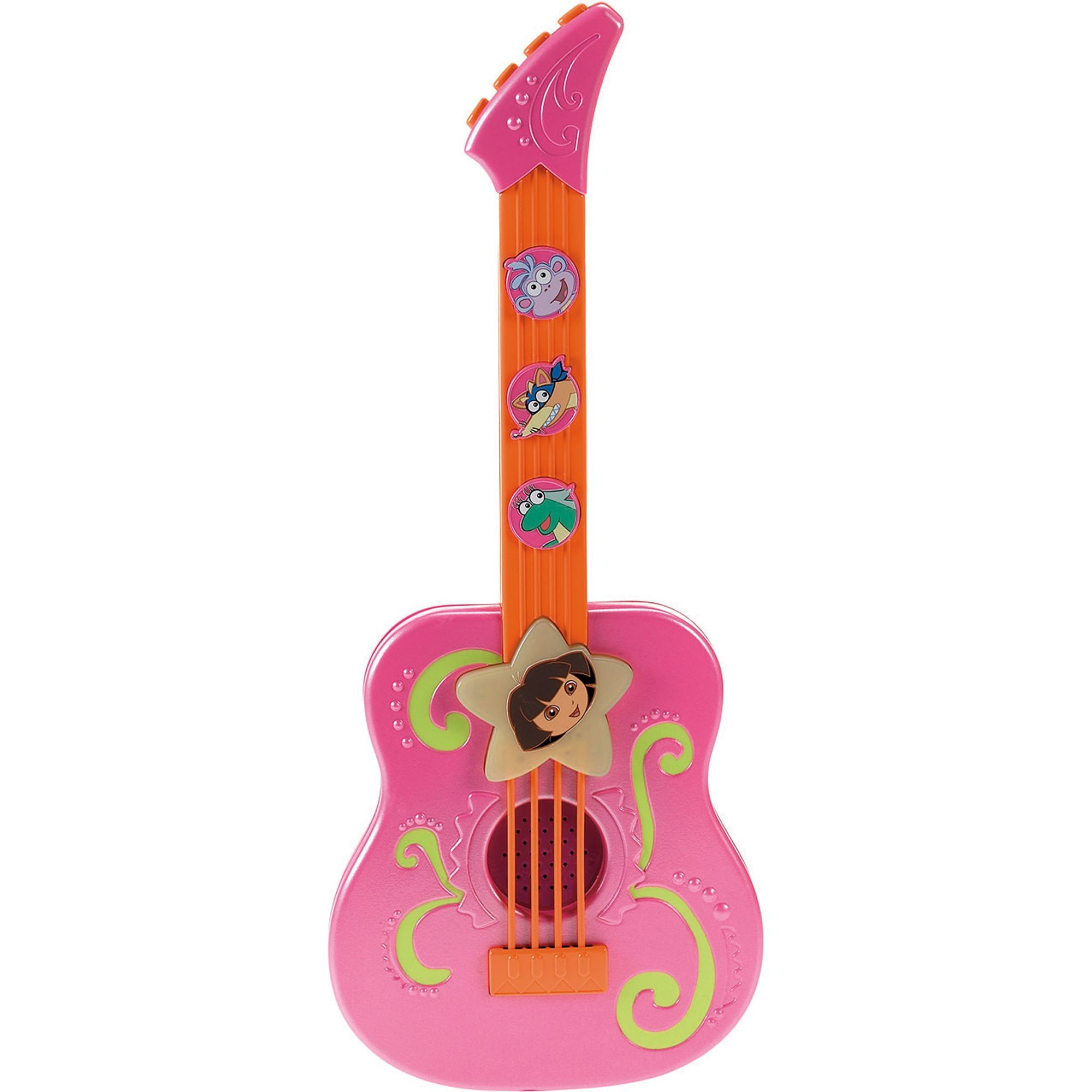 Nickelodeon Tunes Guitar Mega Dora The Explorer Dora The Explorer Toddler Girl Gifts Baby Doll Accessories