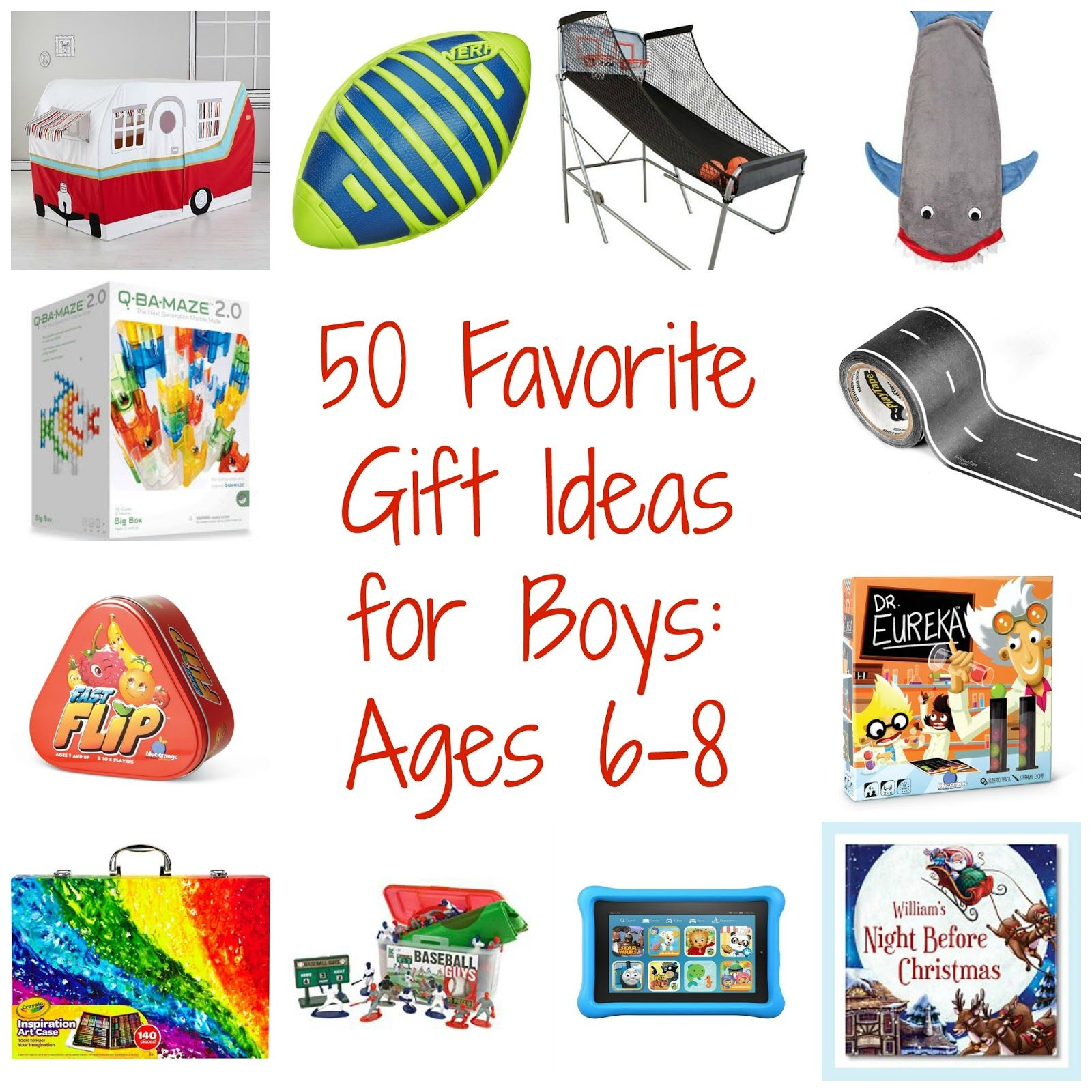 50 Favorite Gift Ideas for Boys Ages 68 Best gifts for