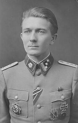 ✠ Hermann Buchner (16 January 1917 – 17 November 1944) killed in action, West of Warsaw, when he was hit in the back by shrapnel.