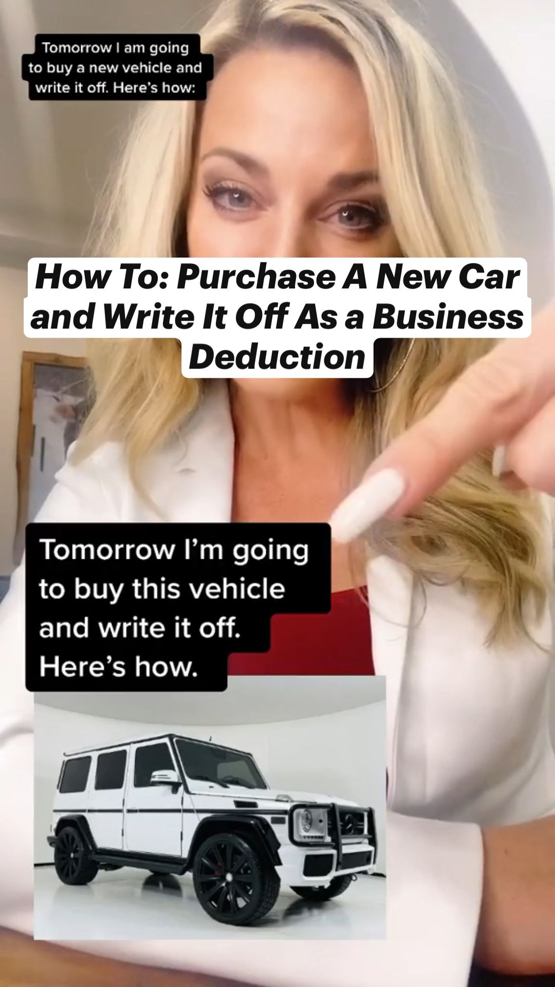 Purchase A New Car and Write It Off As a Business Deduction