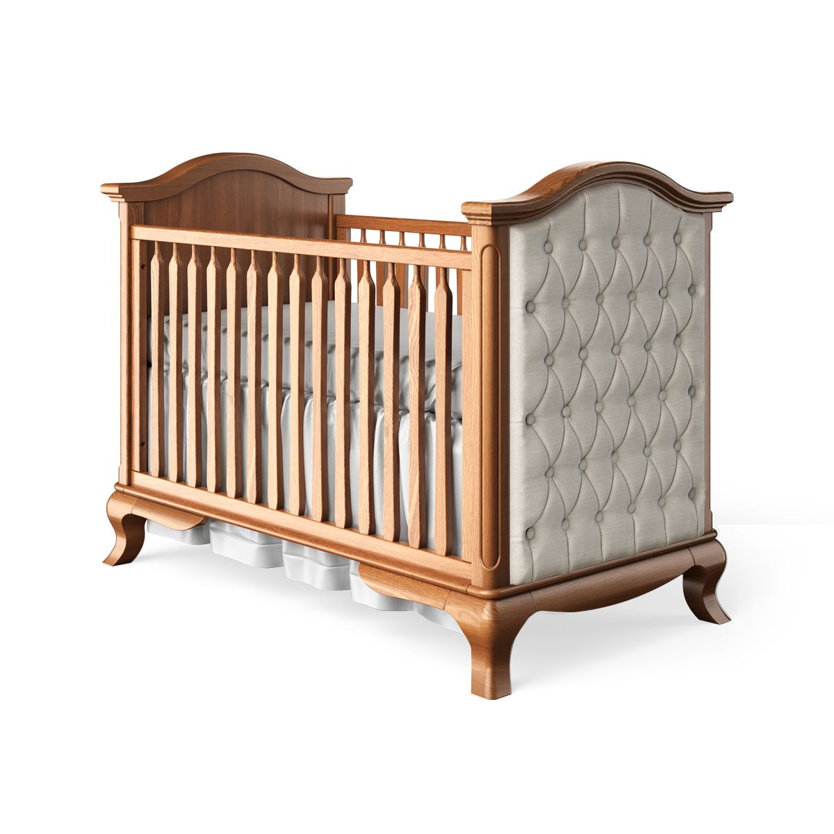 Cleopatra Classic Crib / Tufted Albero Puro / Standard