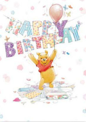 Winnie Pooh Friends Winnie The Pooh Birthday Cute
