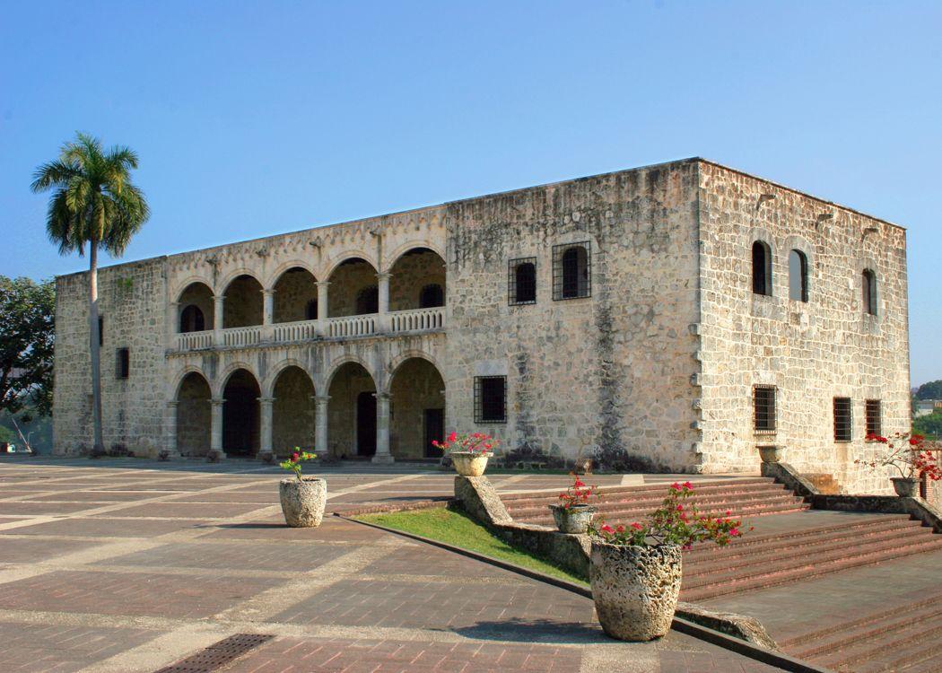 La casa de Cristobal Colon, zona colonial Santo Domingo