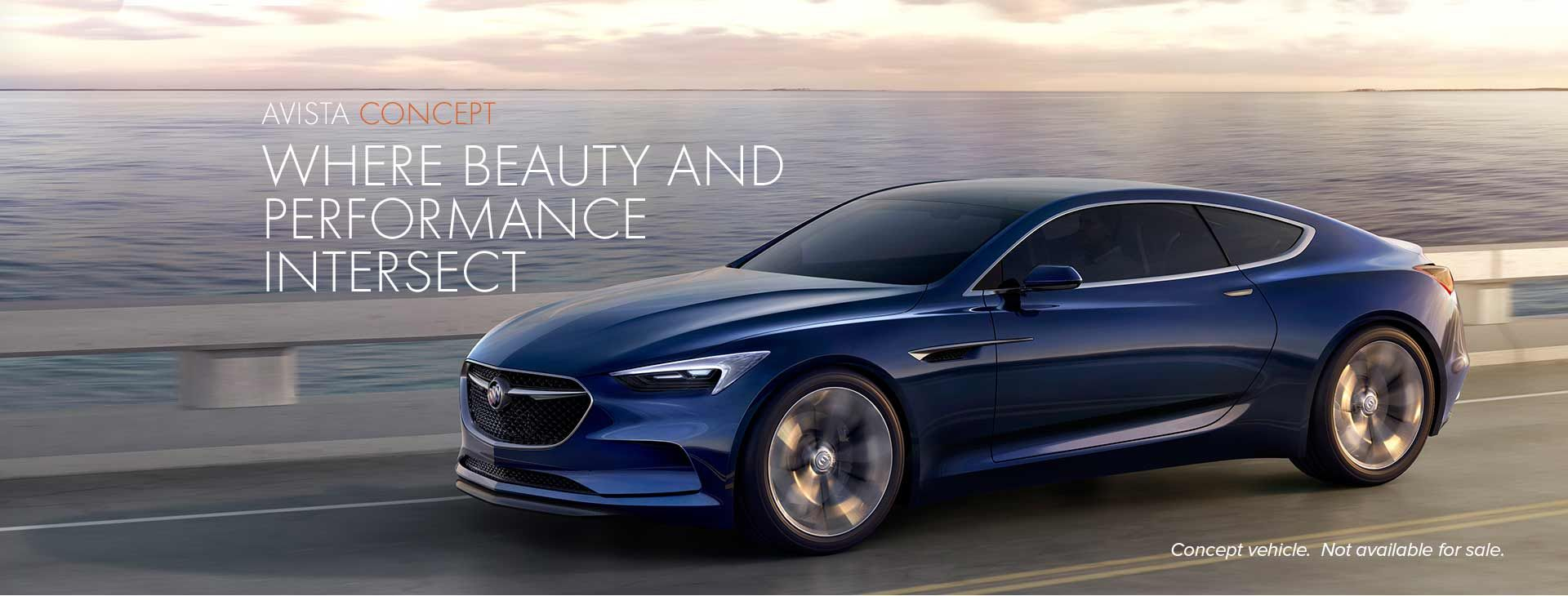 The Buick Avista Concept Vehicle Was Designed To Embody The Combination Of Beauty And Performance Buick Avista Concept Cars