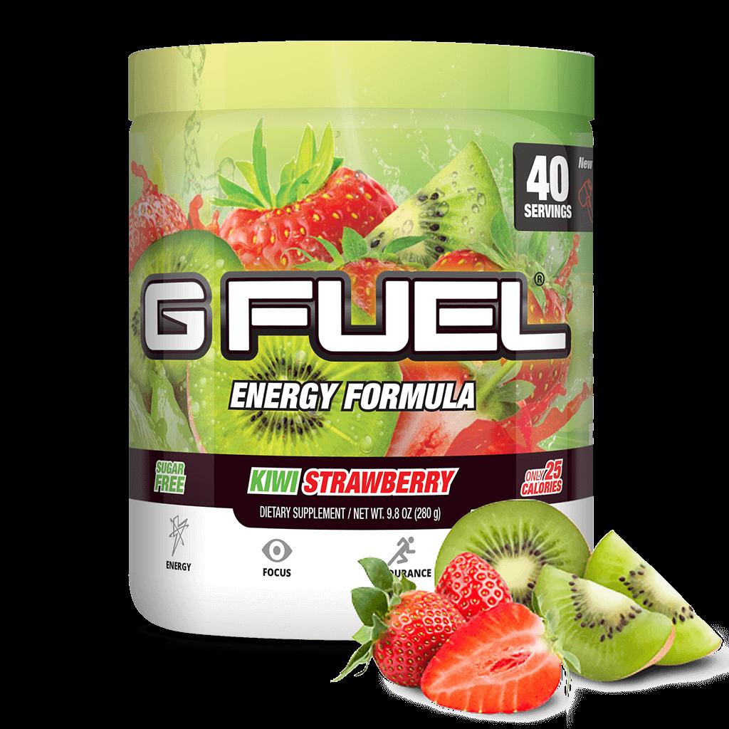 Kiwi Strawberry Tub 40 Servings Energy Drink Powder Strawberry Energy Drinks