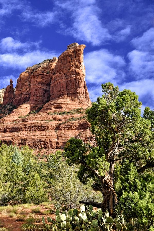 Coffee Pot Rock, Sedona, Arizona by John Gafford, via