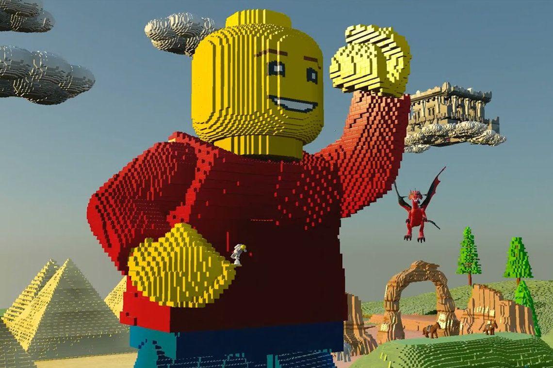 Lego Worlds SandboxSpiel Erscheint Auch Für Konsolen - Minecraft spiele ausprobieren