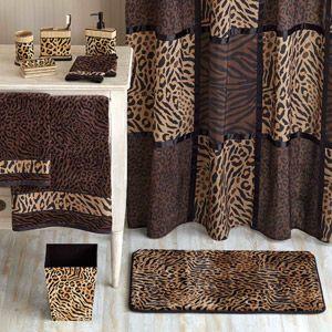 Better Homes And Gardens Animal Print Bathroom Collection Bundle