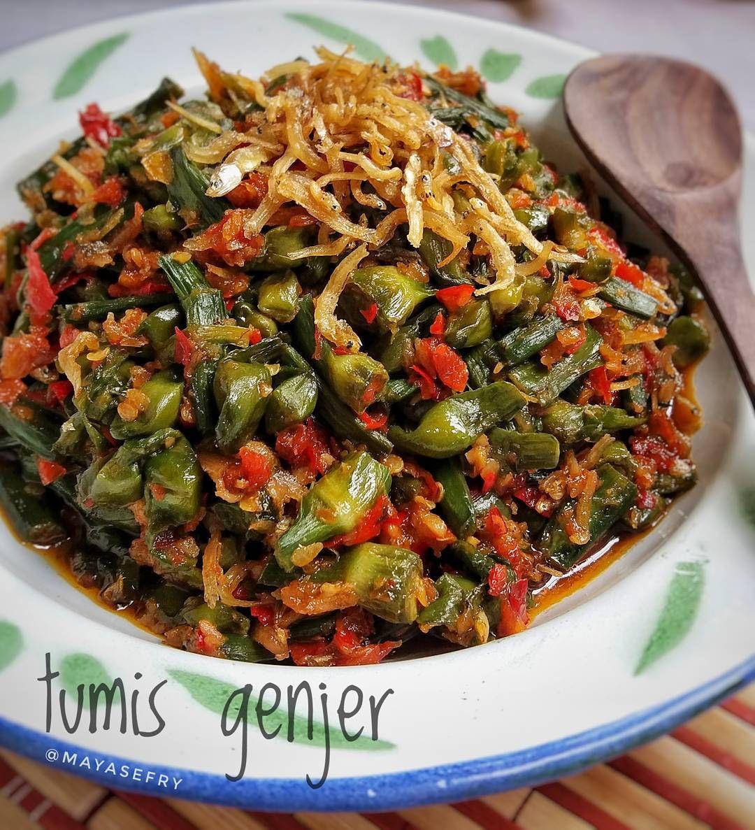 Resep Masakan Nusantara Tumis Genjer Food Cooking Cooking Recipes