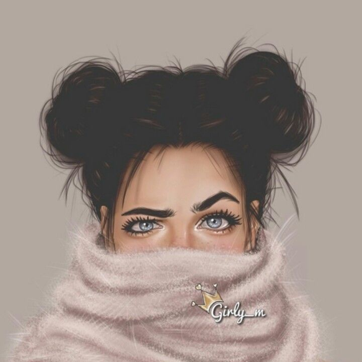 Pin By Ammoon Akrouche On Artistic | Pinterest | Girly Drawings And Illustrations