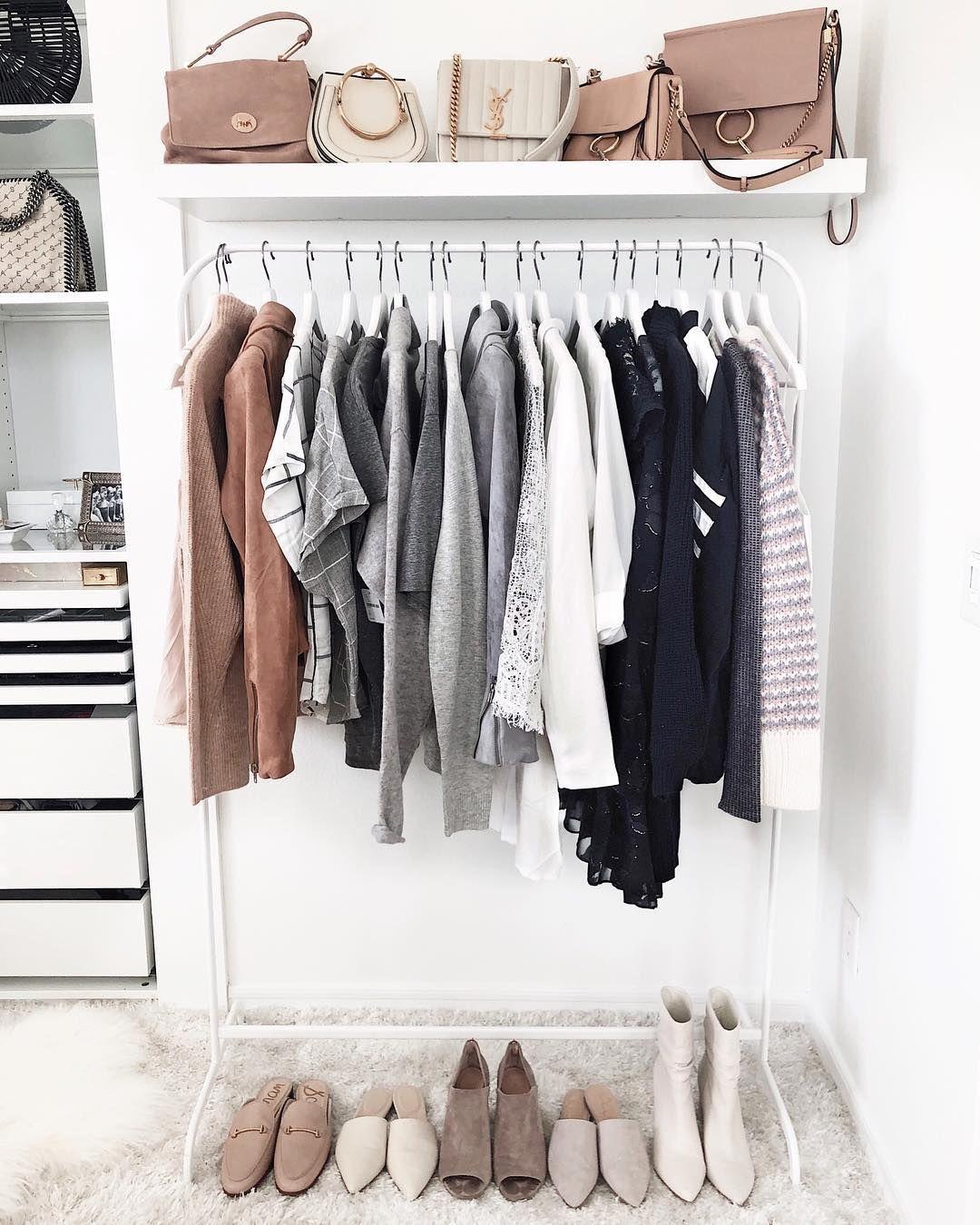 Shop My Looks Minimalist Closet Minimal Closet Wardrobe