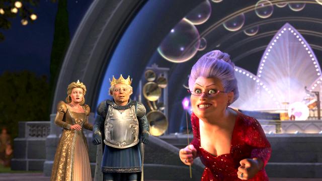 Fairy Godmother Shrek 2 7 Png Shrek Princess Fiona Shrek Prince