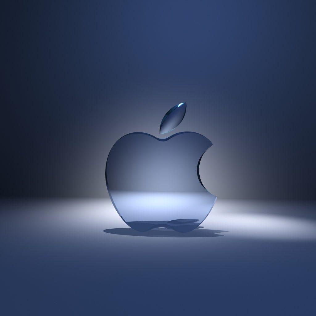Apple Cristal Met Afbeeldingen Iphone Achtergrond Iphone