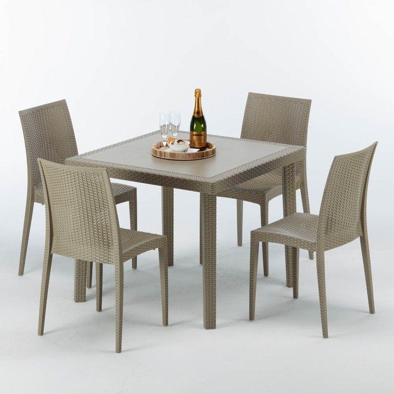 Salon De Jardin Outdoor Furniture Sets Square Tables Table
