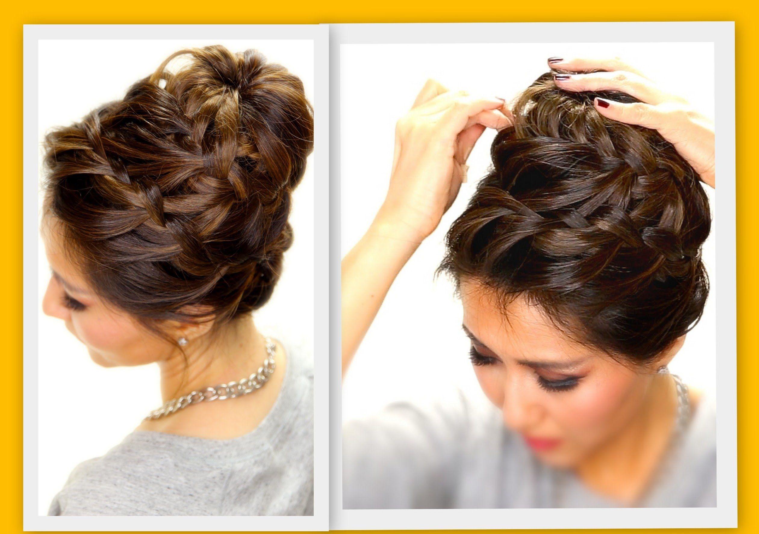 ☆ epic braid bun | braids hairstyles for long medium hair by