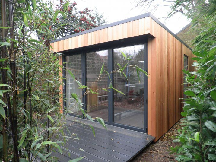 Garden room kontejner vikendica koliba brvnara for Garden studio buildings