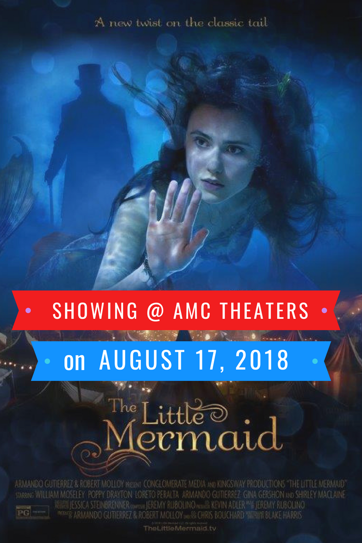 The Little Mermaid At Amc Theaters On August 17th The Little Mermaid Adventure Film Amc Theatres