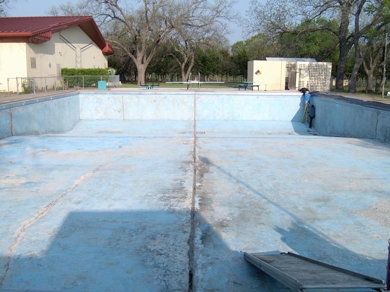 In ground pool repair swimming pool repair pinterest ground old ugly in ground pools how to fix solutioingenieria Image collections