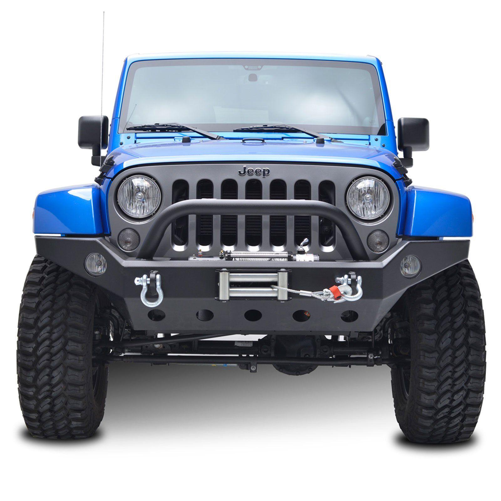 Amazon Com E Autogrilles 51 0360 07 15 Jeep Wrangler Jk Robicon Front Bumper Automotive Jeep Wrangler Jeep Wrangler Jk Jeep